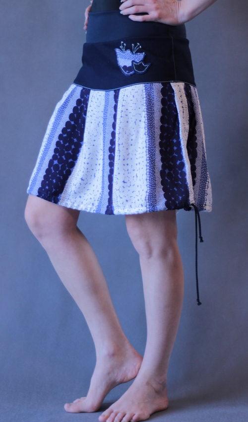 handgemachte Mode – LaJuPe - Sommerrock weiß lang