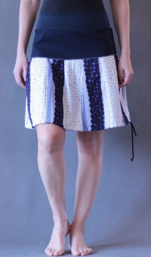 handgemachte Mode – LaJuPe - Sommerrock lang weiß
