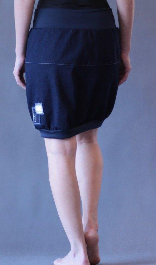 handgemachte Mode – LaJuPe - Jeansrock kurz Damen