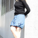 handgemachte Mode – LaJuPe - Rock lang Baumwolle