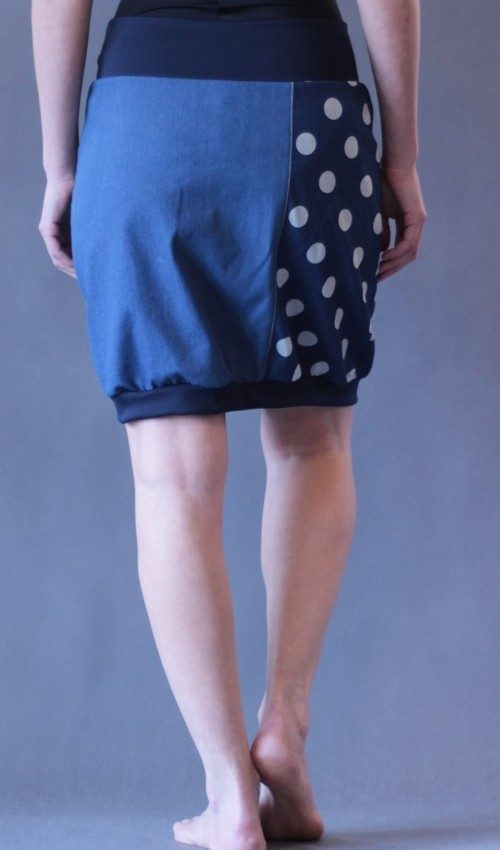 handgemachte Mode – LaJuPe - Sommerrock Baumwolle