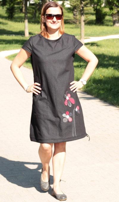 handgemachte Mode – LaJuPe - Damen Kleid schwarz