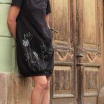handgemachte Mode – LaJuPe - schwarzes Kleid