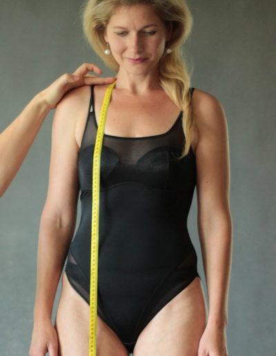 Jak se měřit na šaty - celková délka