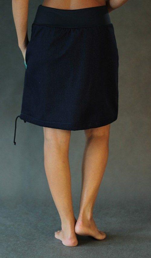 handgemachte Mode – LaJuPe - Jeansrock mittellang