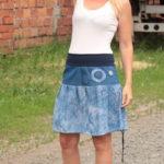 handgemachte Mode – LaJuPe - Sommerrock große Größen