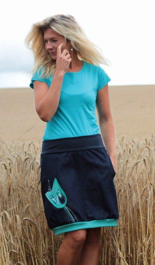handgemachte Mode – LaJuPe - Midirock Damen