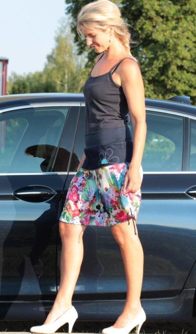 handgemachte Mode – LaJuPe - bunter langer Rock