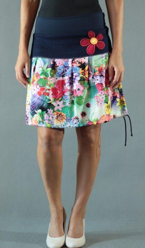 handgemachte Mode – LaJuPe - langer bunter Sommerrock