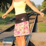 handgemachte Mode – LaJuPe - Sommerrock bunt