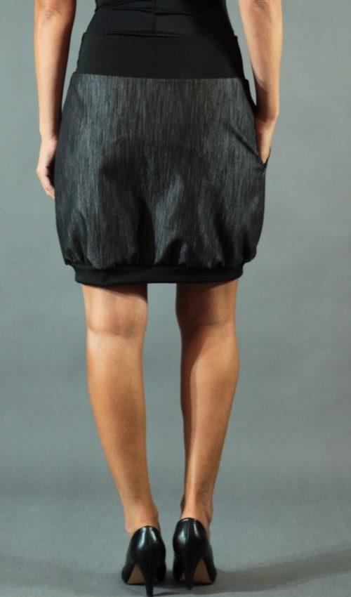handgemachte Mode – LaJuPe - schwarzer Rock lang