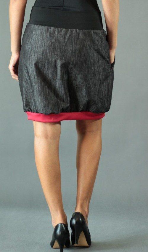 handgemachte Mode – LaJuPe - schwarzer Maxirock