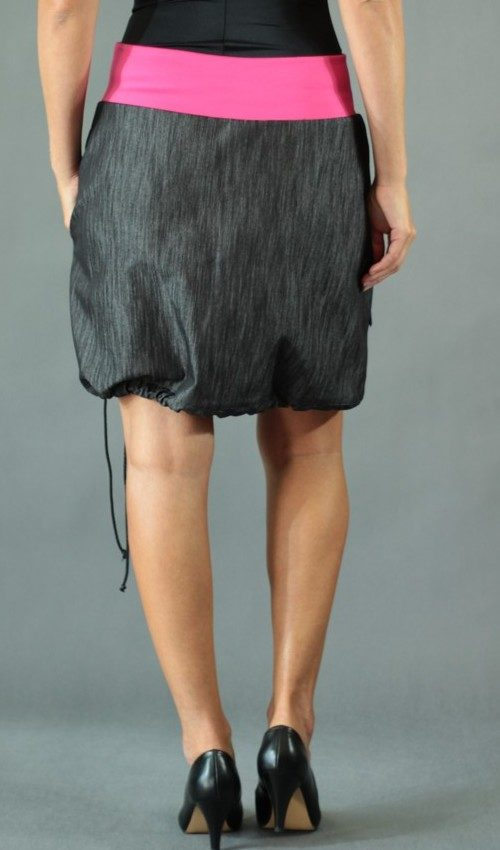handgemachte Mode – LaJuPe - langer schwarzer Rock
