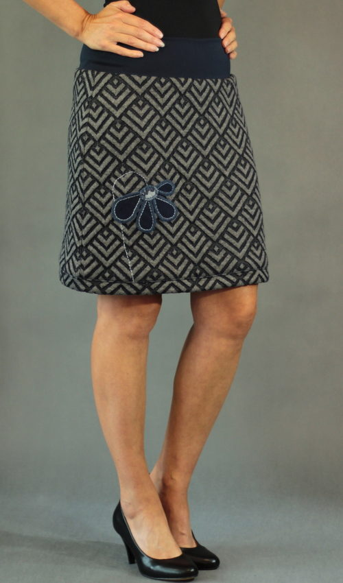 handgemachte Mode – LaJuPe - Winterrock lang