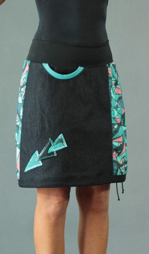 handgemachte Mode – LaJuPe - Damenrock bunt
