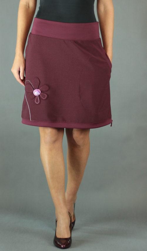 handgemachte Mode – LaJuPe - Damenrock rot