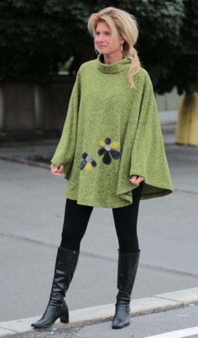 handgemachte Mode – LaJuPe - Poncho Damen