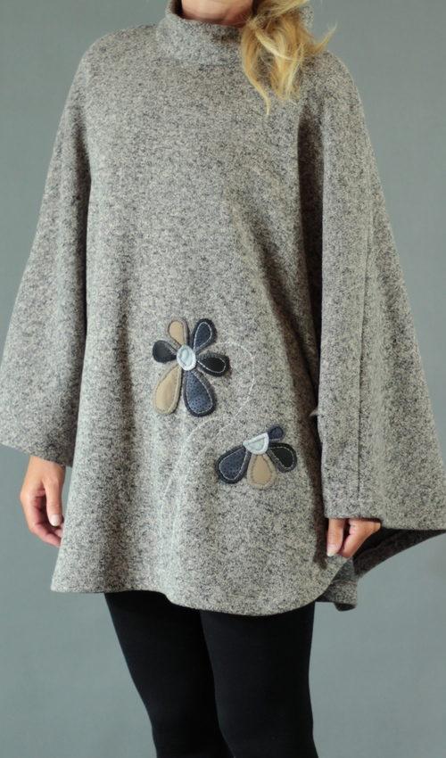 handgemachte Mode – LaJuPe - Winter Poncho