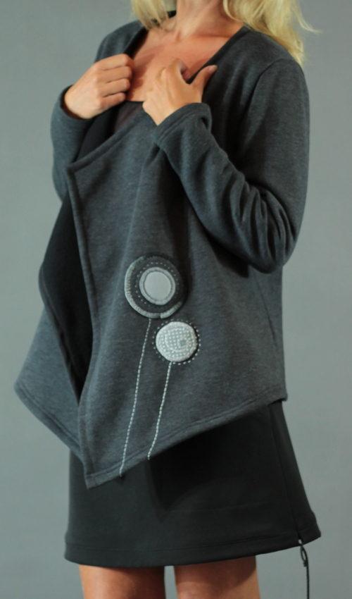 handgemachte Mode – LaJuPe - Strick Cardigan Damen Frauen