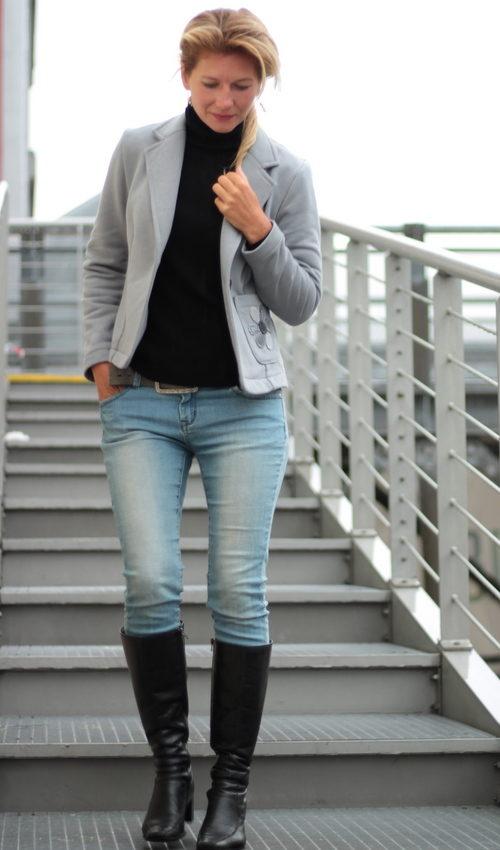 handgemachte Mode – LaJuPe - Strick Strickmantel Damen Frauen