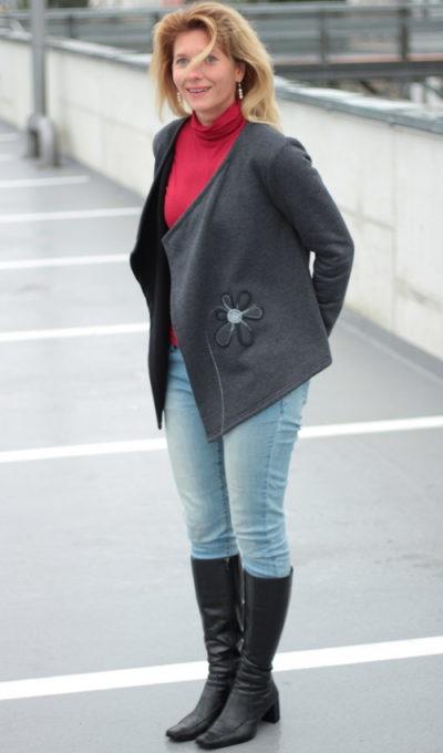 handgemachte Mode – LaJuPe - Strickjacke Damen