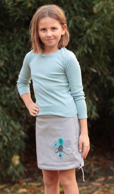 handgemachte Mode – LaJuPe - Mädchen Rock lang