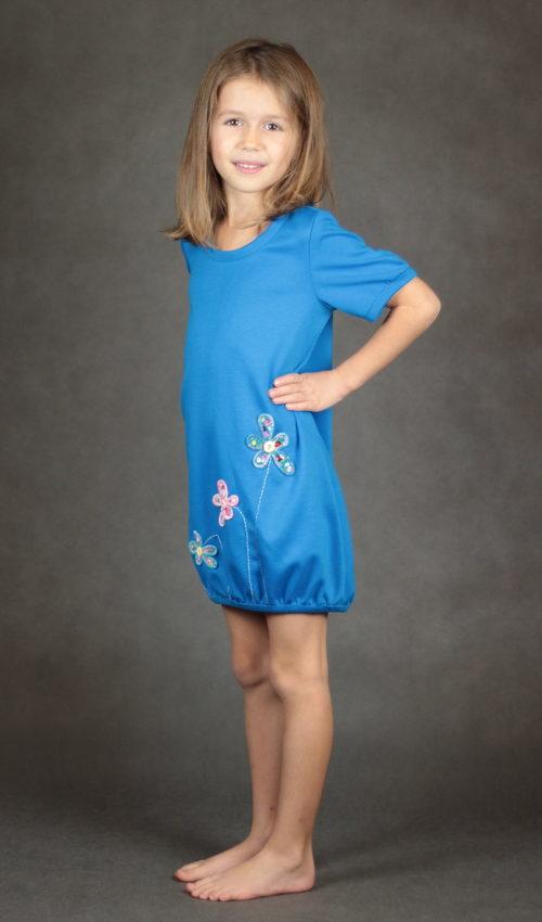 handgemachte Mode – LaJuPe - Jerseykleid Mädchen