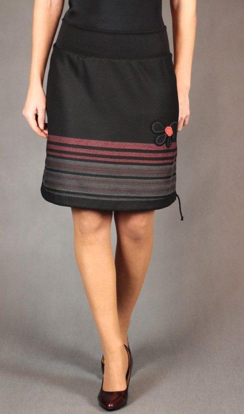 handgemachte Mode – LaJuPe - schwarzer eleganter Rock