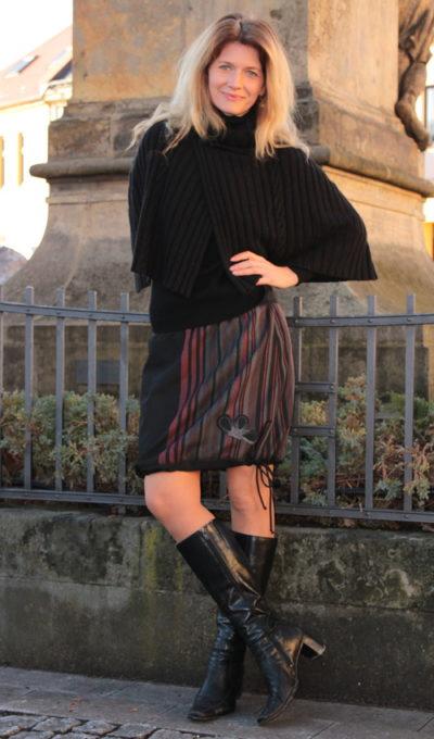 handgemachte Mode – LaJuPe - Winter Maxiröcke