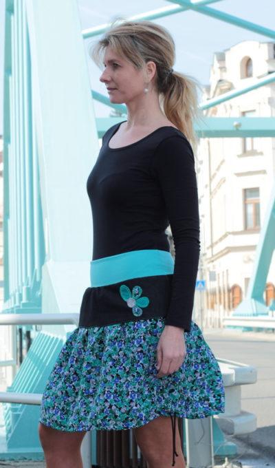 handgemachte Mode - LaJuPe - lange moderne Röcke
