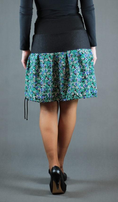 handegemachte Mode - LaJuPe - lange Blumenröcke