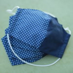LaJuPe blaue Mundschutzmasken