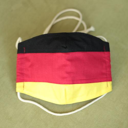 LaJuPe handgemachte Schutzmaske deutsche Fahne