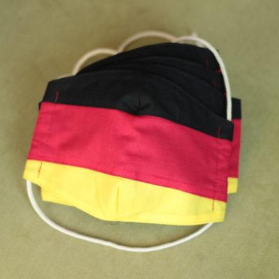 LaJuPe handgemachter Mundschutz deutsche Fahne